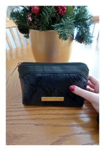 Showing the Tartan + Twine Serpentine Dream Small Clutch