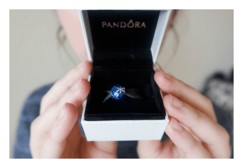 my birthday gift: pandora charm
