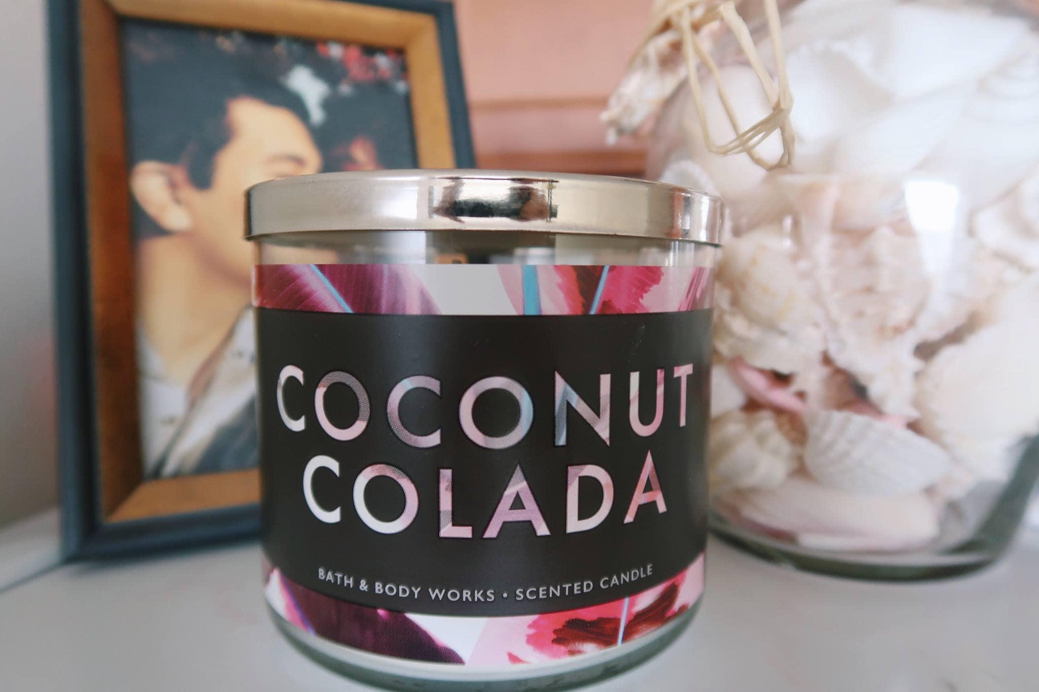 Bath & Body Works Coconut Colada Candle