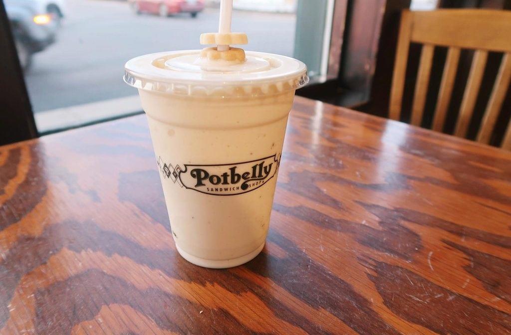 potbelly banana smoothie