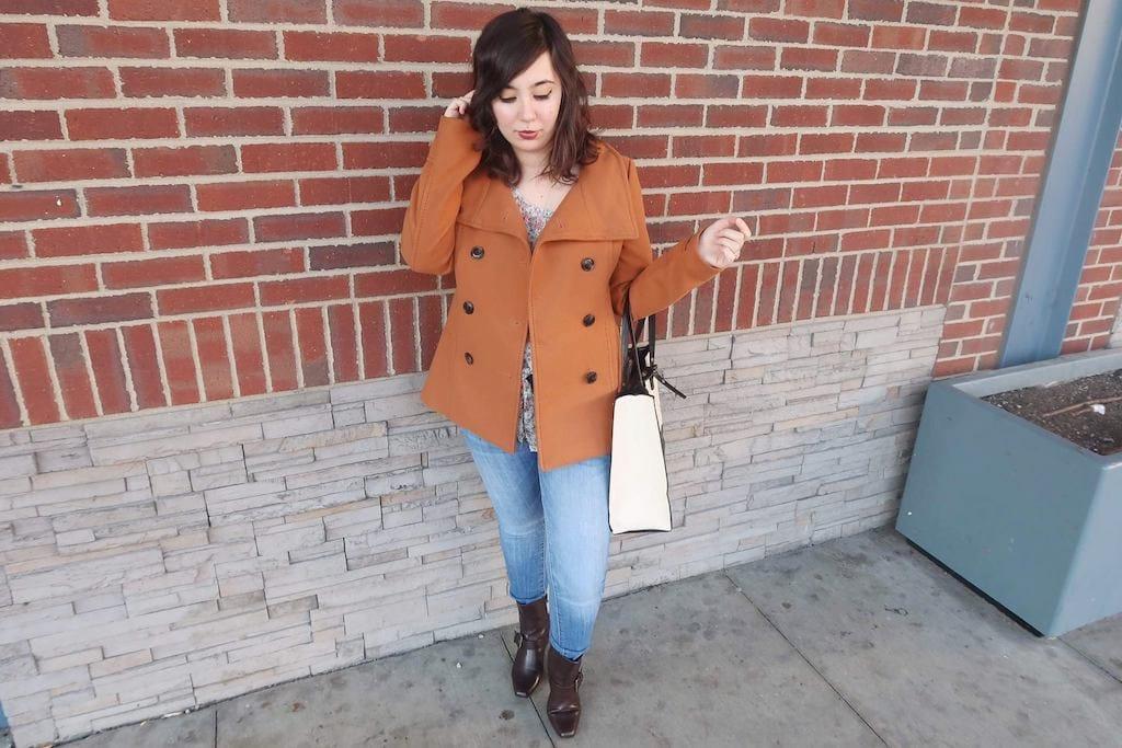 spring coat OOTD