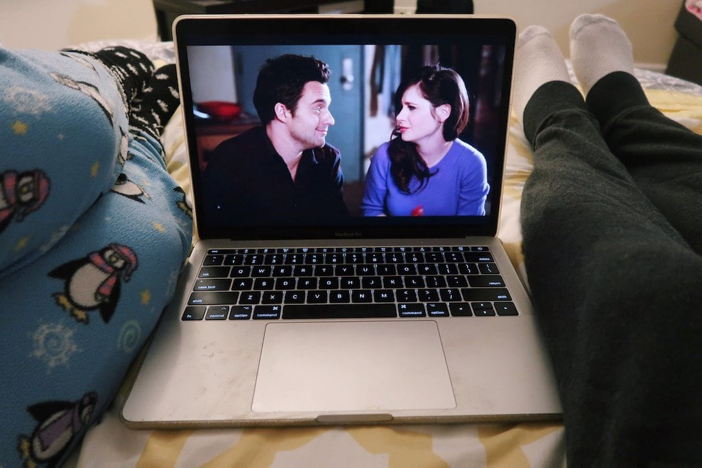 7 days of happiness: watching Netflix with boyfriend