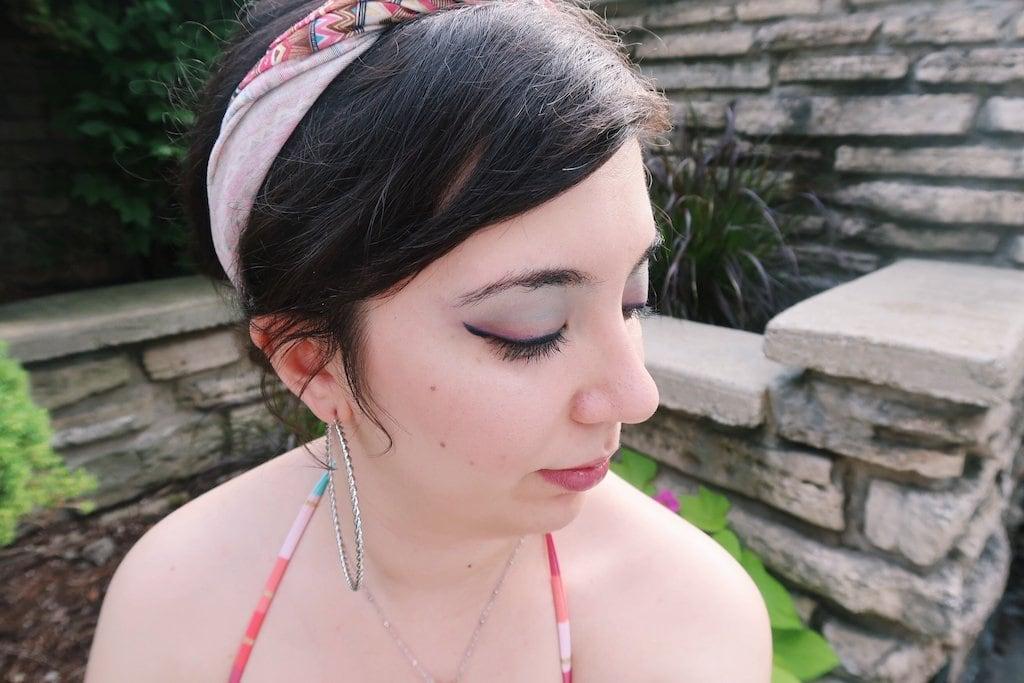 Pastel Makeup Look
