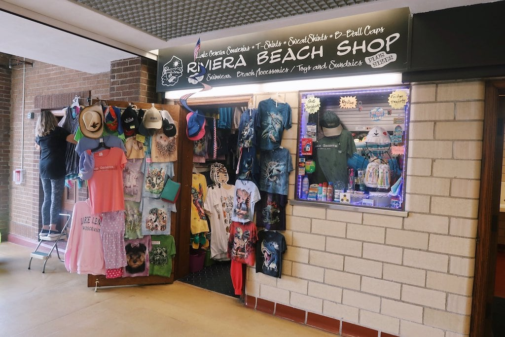 Beach Shop in Lake Geneva