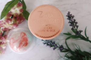 Zoella sugar scrub and bath bomb