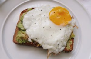 Avocado Toast with Fried Egg (Pinterest Recipes)