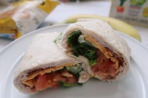 Turkey Wrap (Pinterest Recipes)