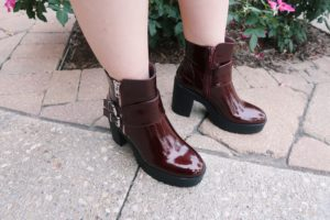 Boots from Forever 21 stores.