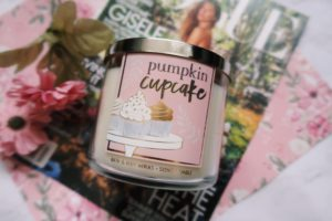 Pumpkin Cupcake candle from Bath and Body Works.