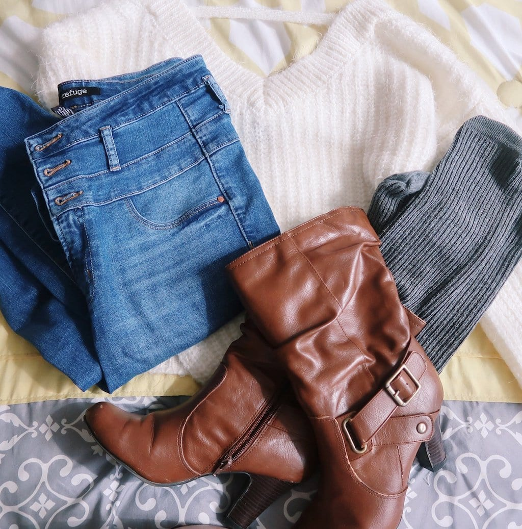 Sweater Socks and Boots