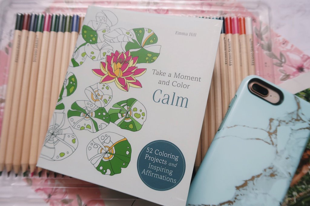 Take a Moment and Color Calm Book