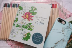 Take a Moment and Color Calm by Emma Hill