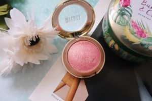Milani's Baked Blush with Dolce Pink hue.