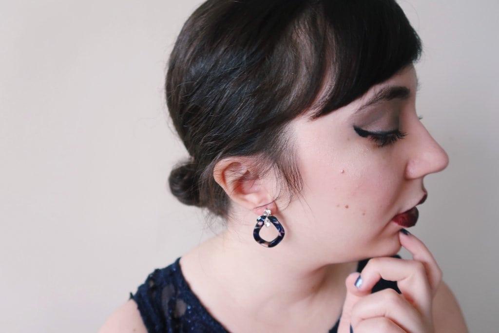 Francesca's Jewelry -- Blue Earrings