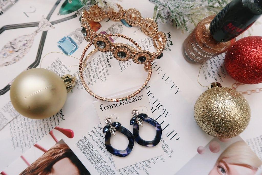 Francesca's Jewelry -- Bracelets and Earrings