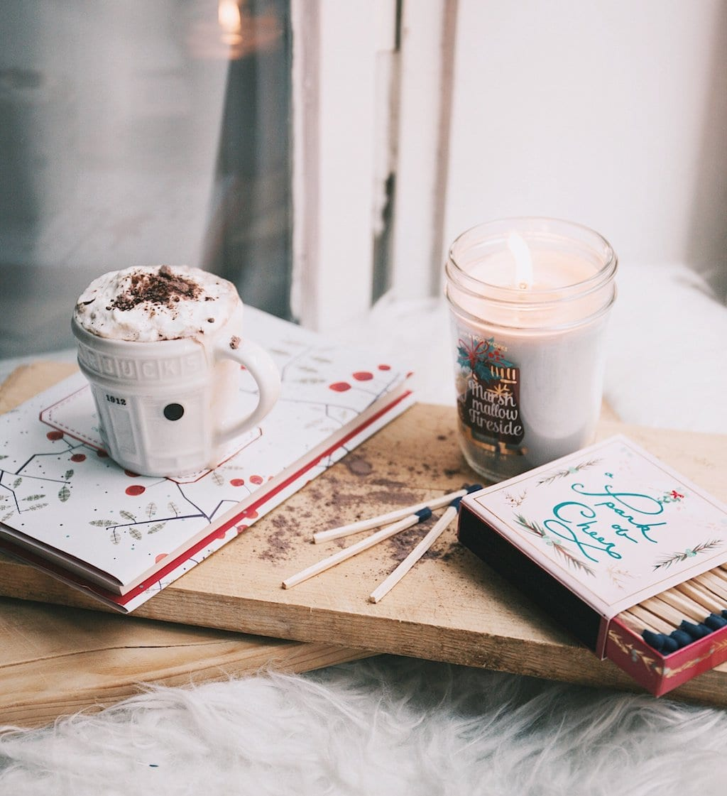 Fun Things to Do in January -- Read and drink hot chocolate