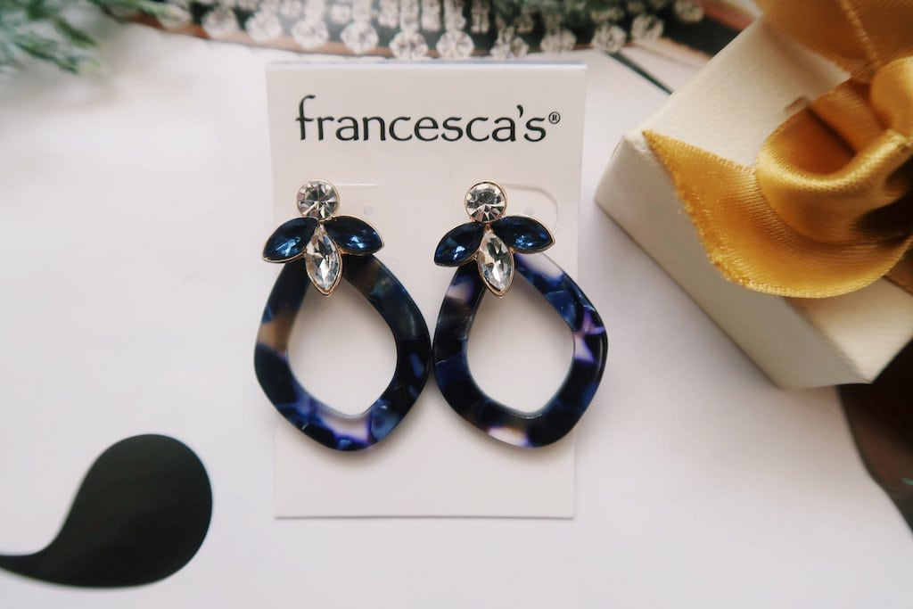 Francesca's Jewelry -- Royal Blue Earrings