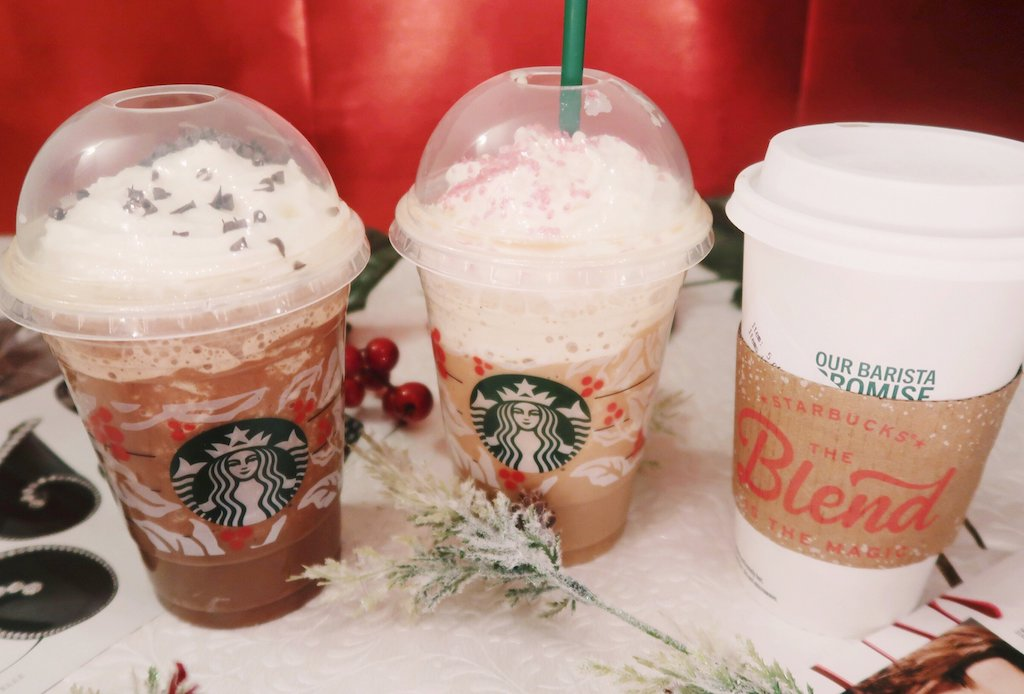 Starbucks Iced and Hot Drinks