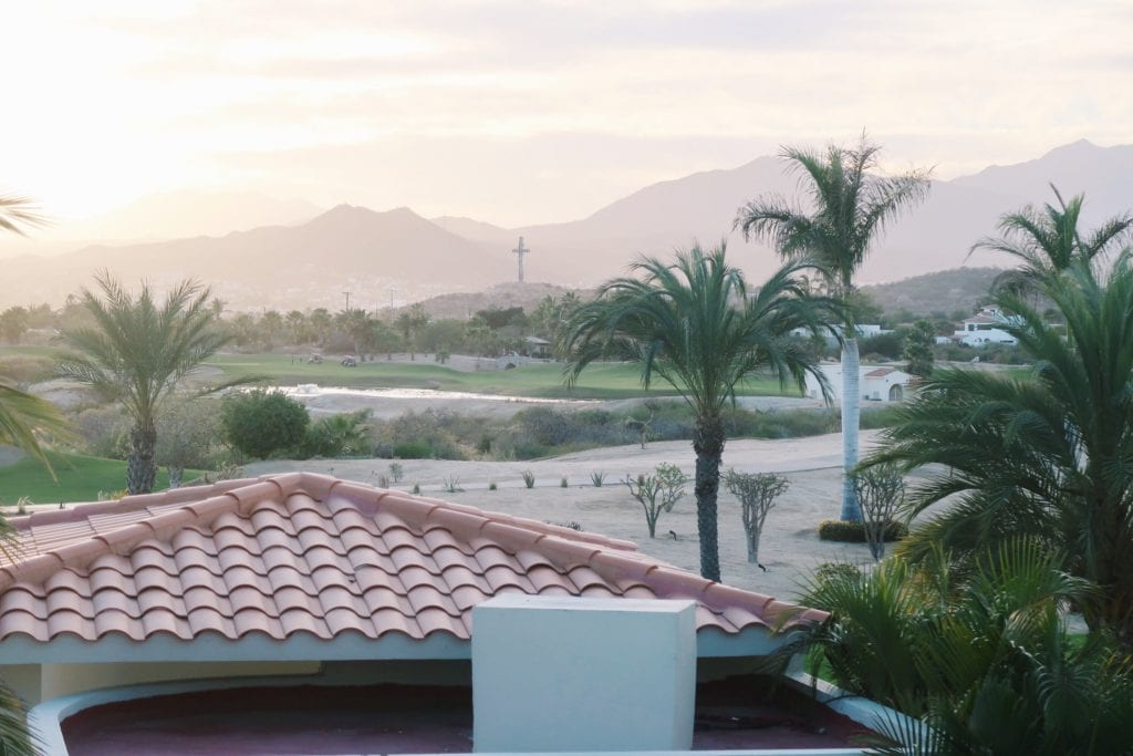 Cabo's mountains.