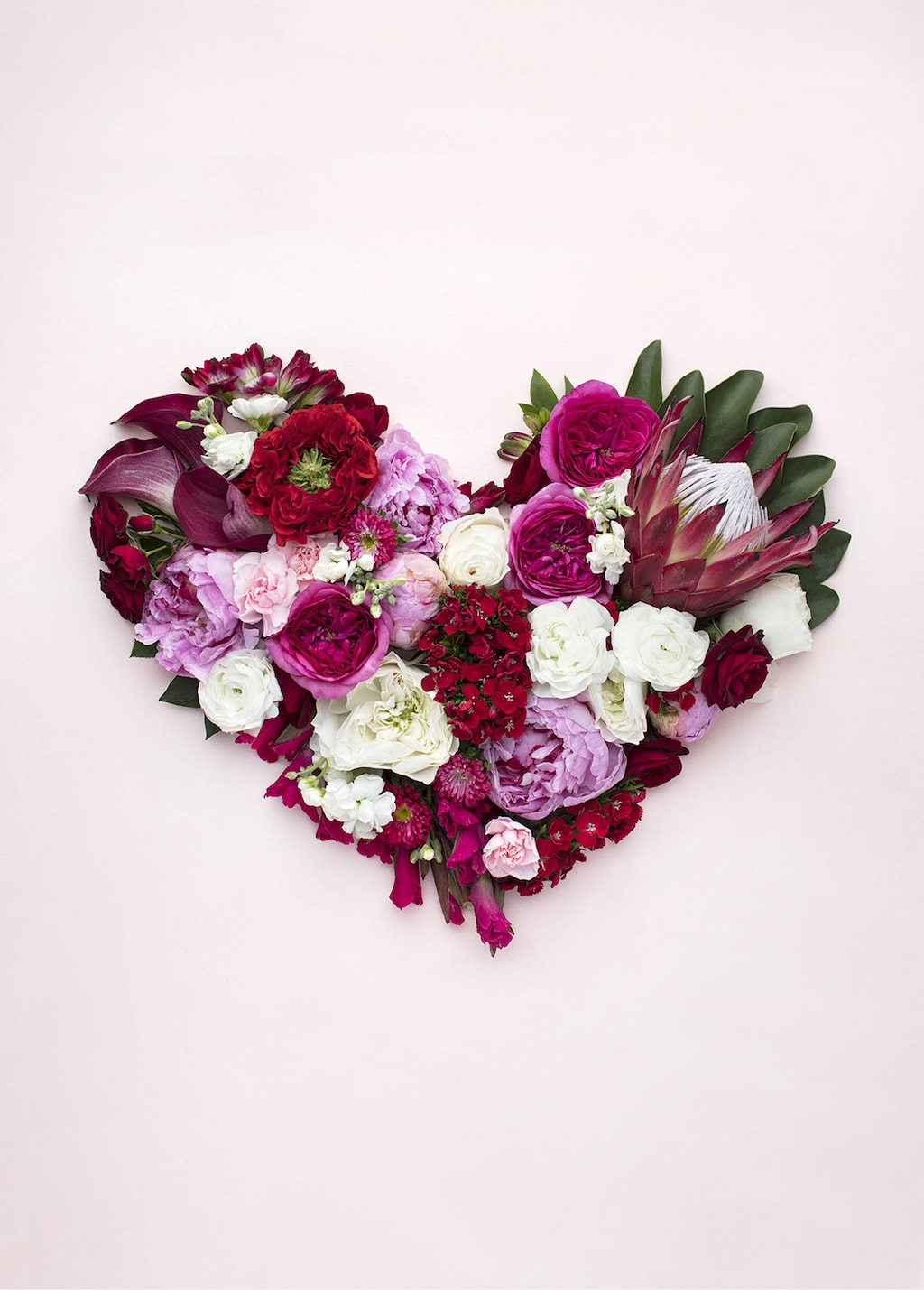 Heart Flowers -- Self-Love Ideas Valentine's Day