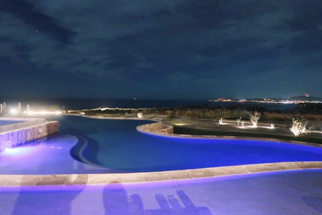 Oceana nighttime view.