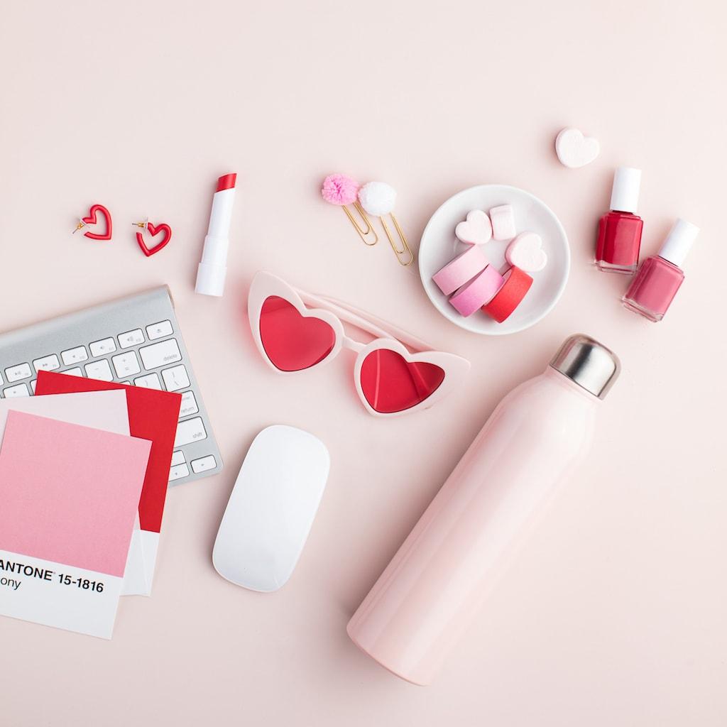 Valentine's Day Flatlay