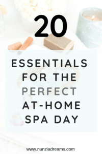 Pin -- 20 Essentials for the Perfect At-Home Spa Day