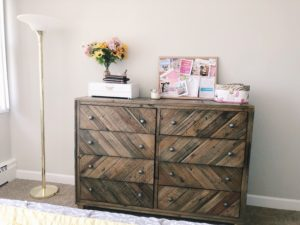 April Favorites -- dresser