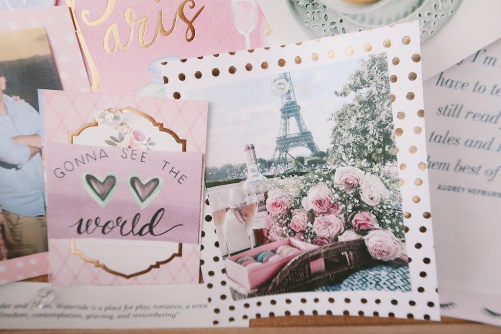 Paris: Making a Dream Board
