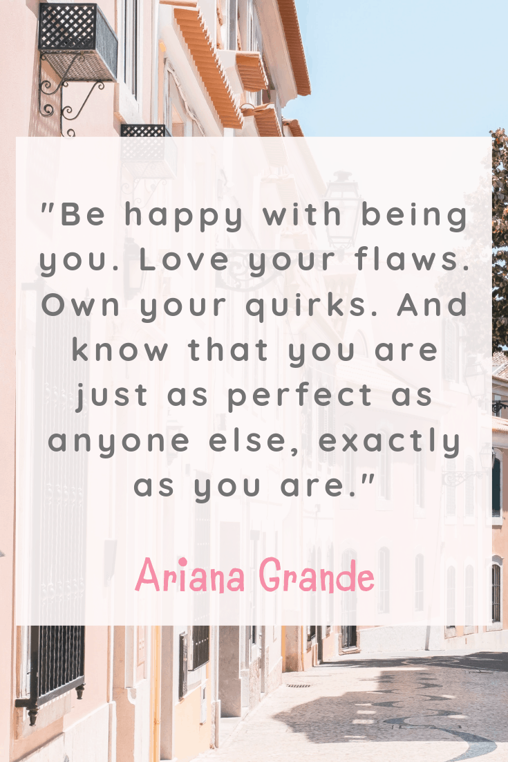 Ariana Grande Inspirational Quotes about Happiness