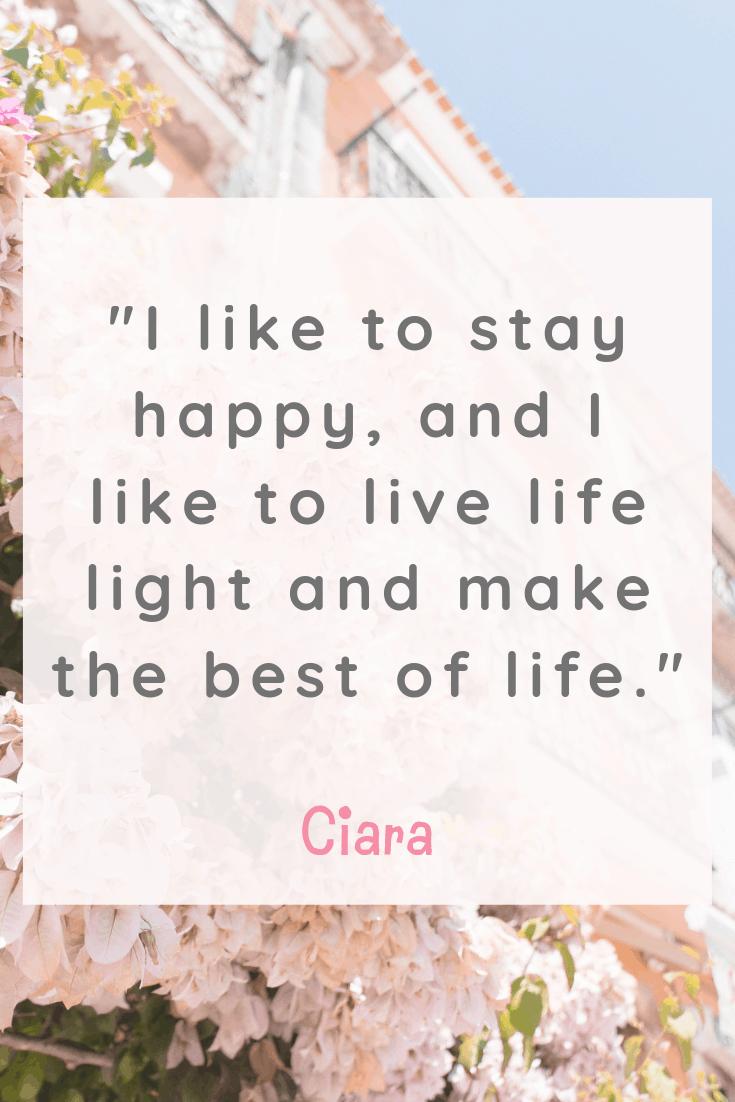Ciara Quote