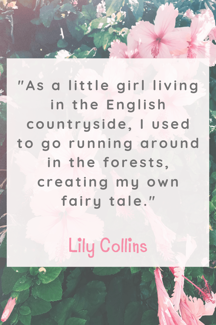 Lily Collins Happiness Quote