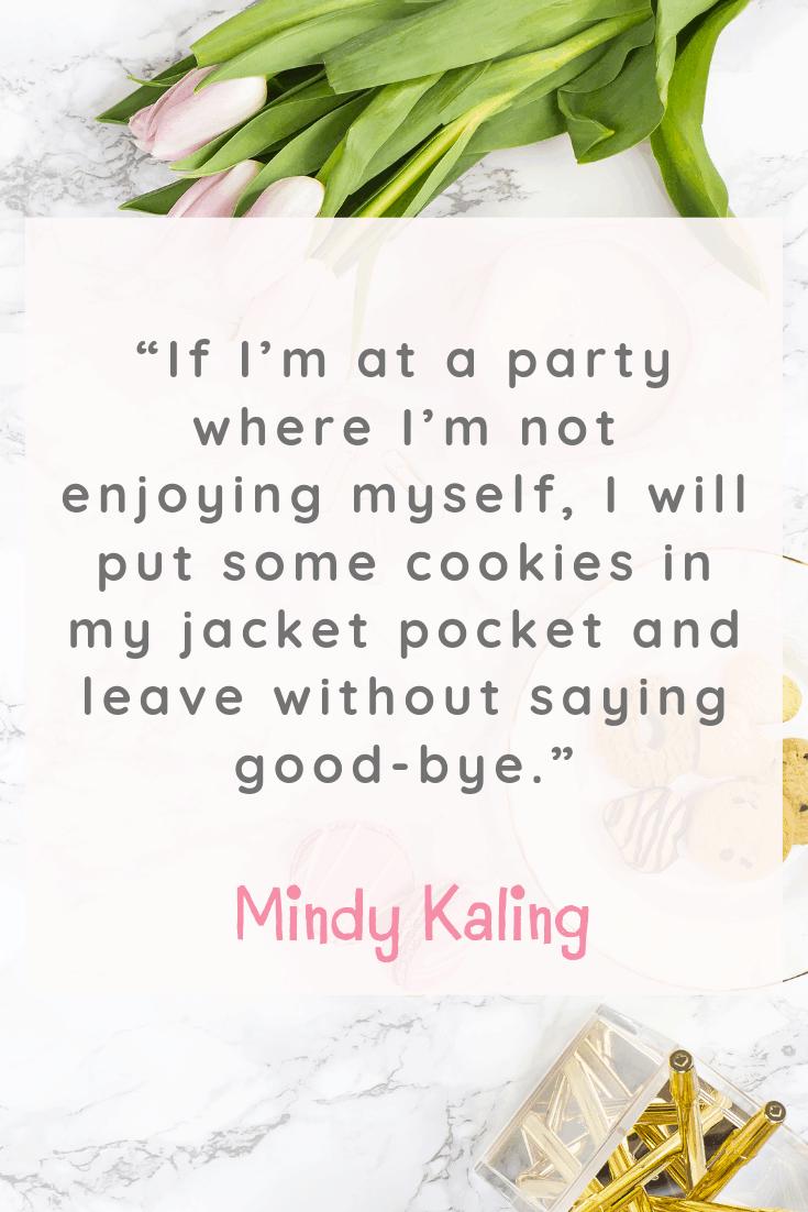 Mindy Kaling Quote