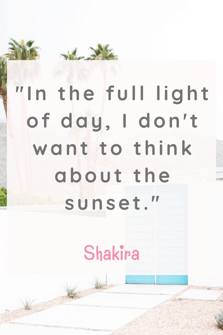 Shakira Happiness Quote