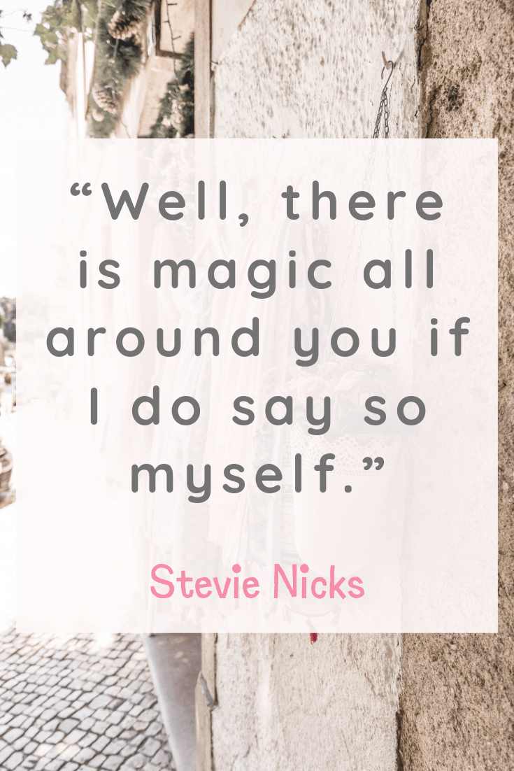 Stevie Nicks Inspirational Quotes about Happiness