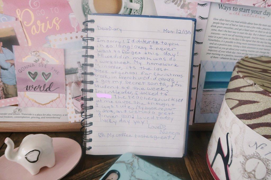 Diary Entries 12-13-2004