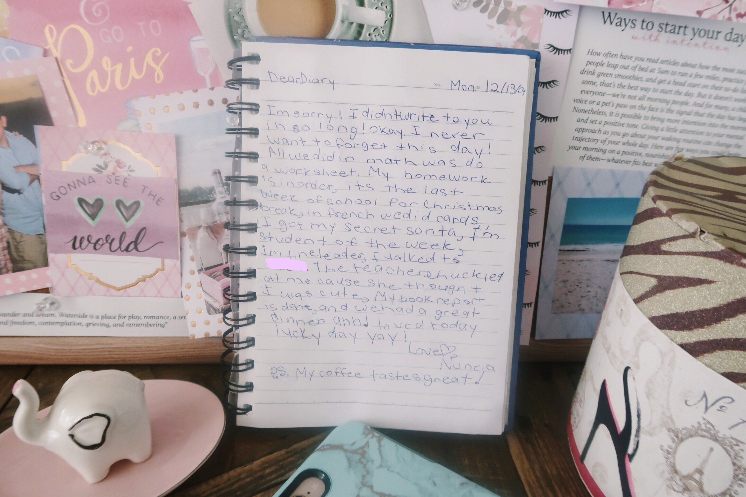 12/13/2004 Diary Entries