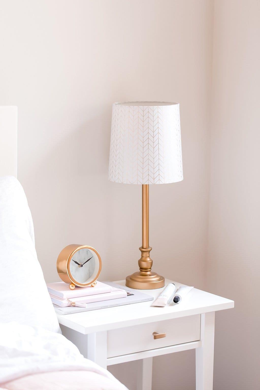 Sunday night self care-- bedroom nightstand.