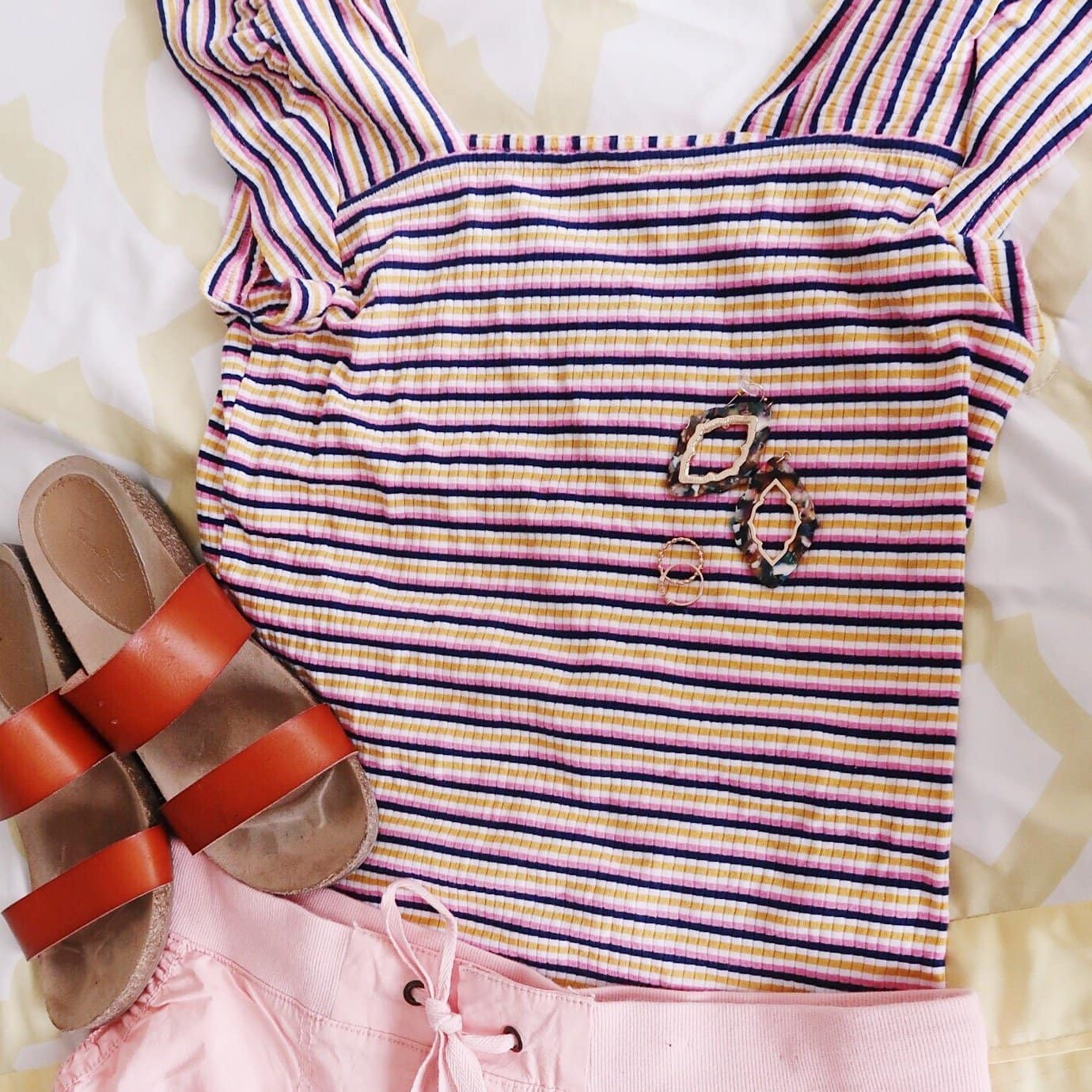 Pink & Yellow Pastel Outfit