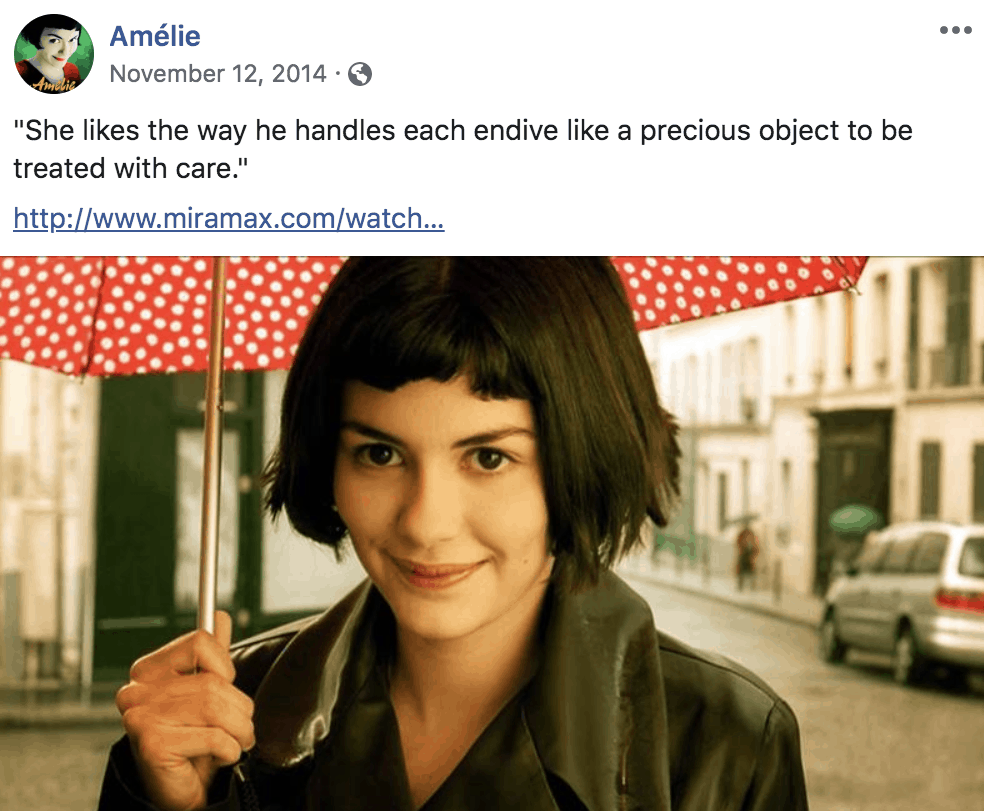 Amèlie Umbrella Photo