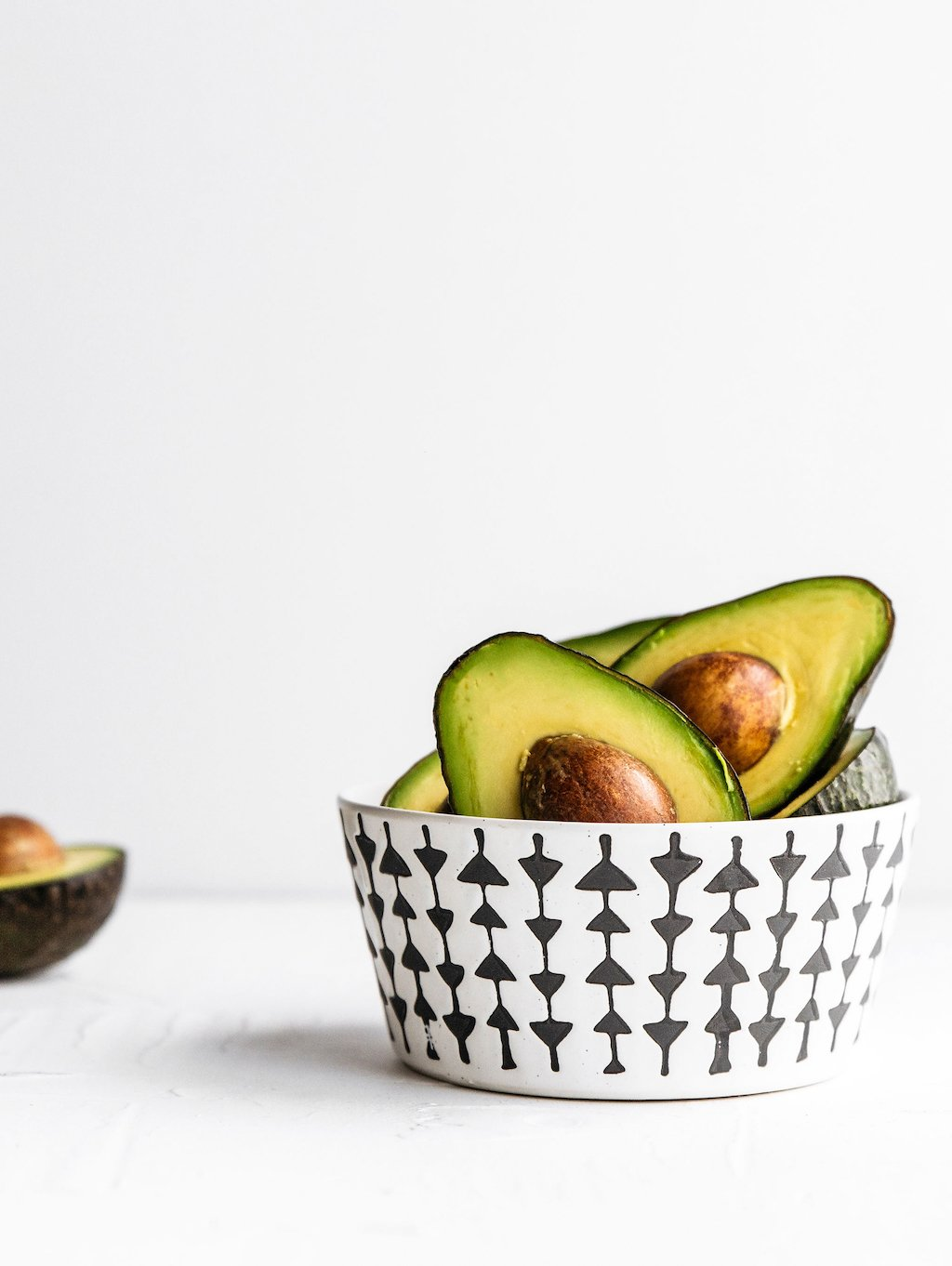 Reduce health anxiety by eating healthy foods like avocados.