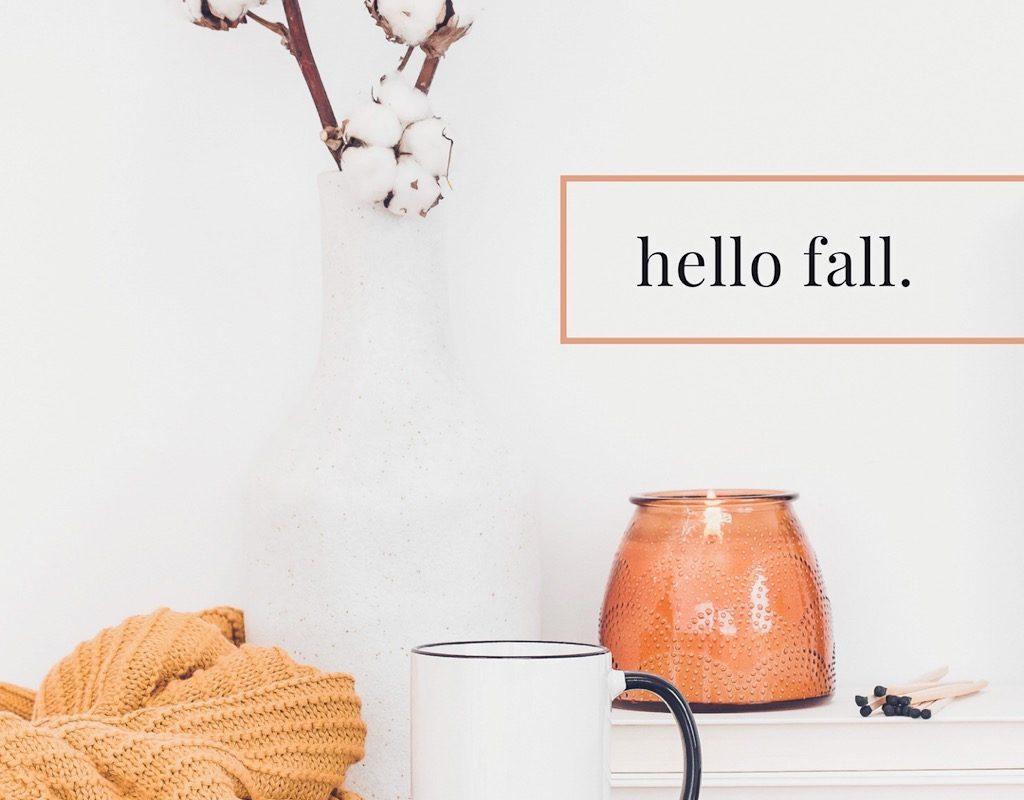 Fall Self Care Bucket List Challenge + Printable Checklist!