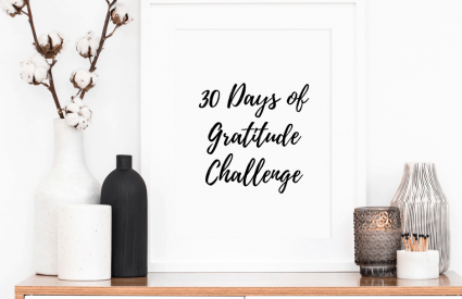 30 Days of Gratitude Challenge