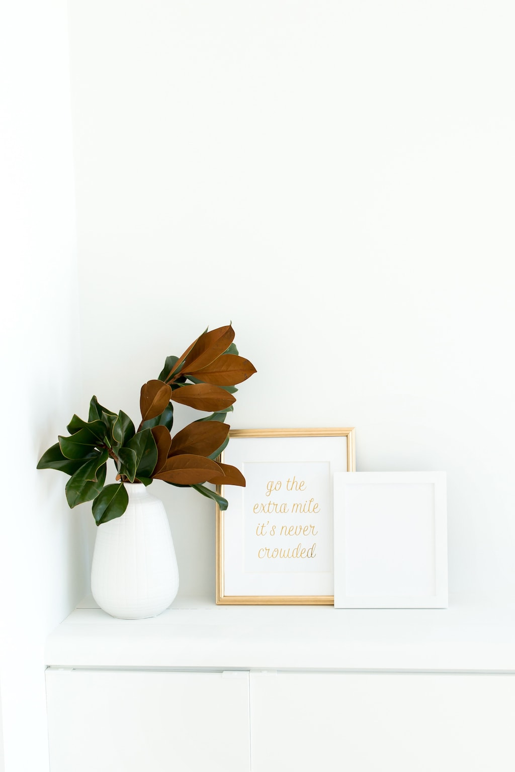 30 Days of Gratitude: flowers and frame