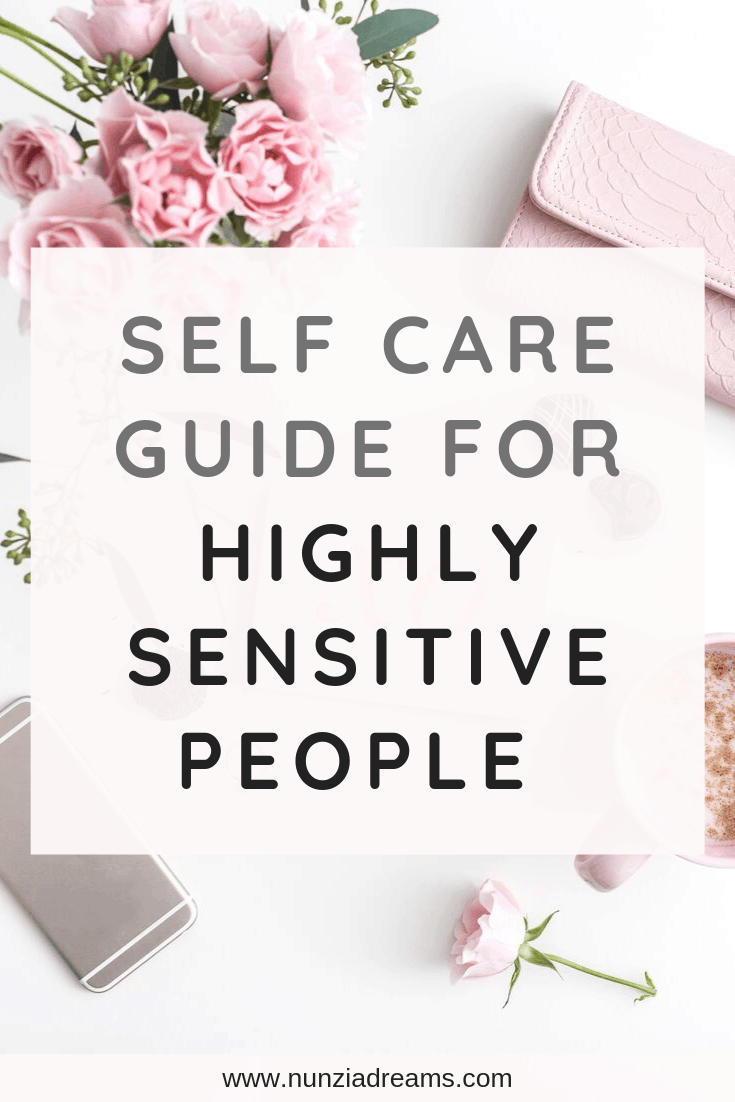 Pin -- Self Care Guide for Highly Sensitive People