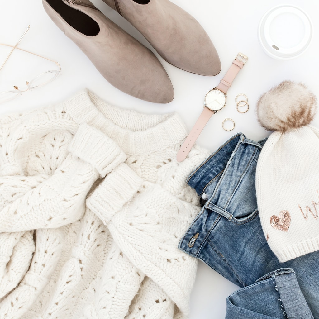 winter bucket list: cozy clothes