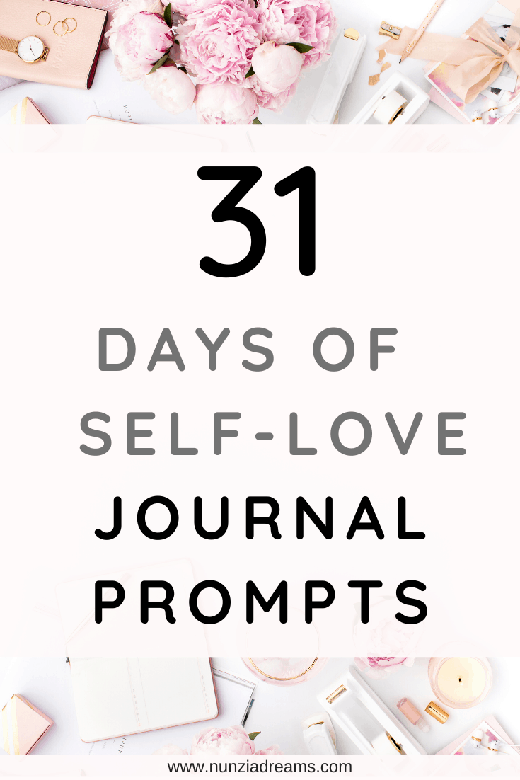 31 Days of Self-Love Journal Prompts