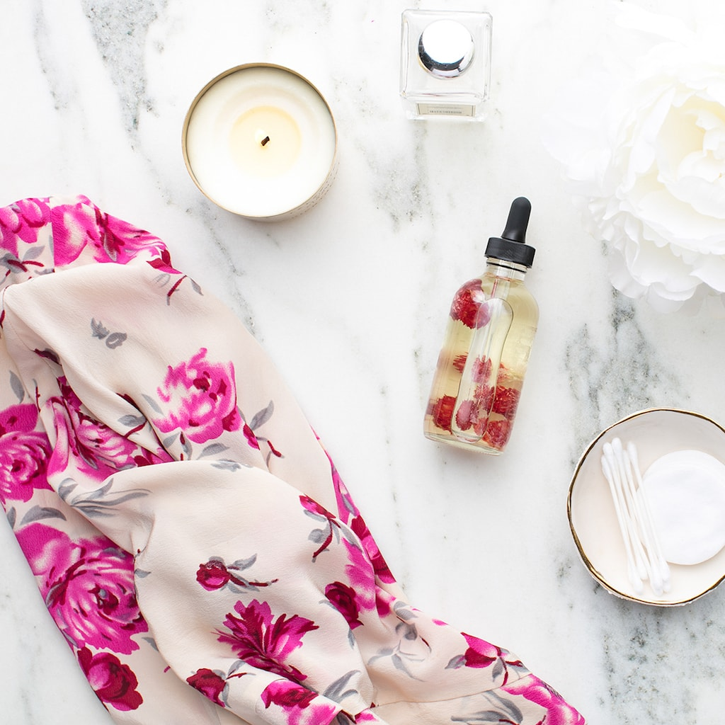 productive things to do when you're bored -- organize your beauty products