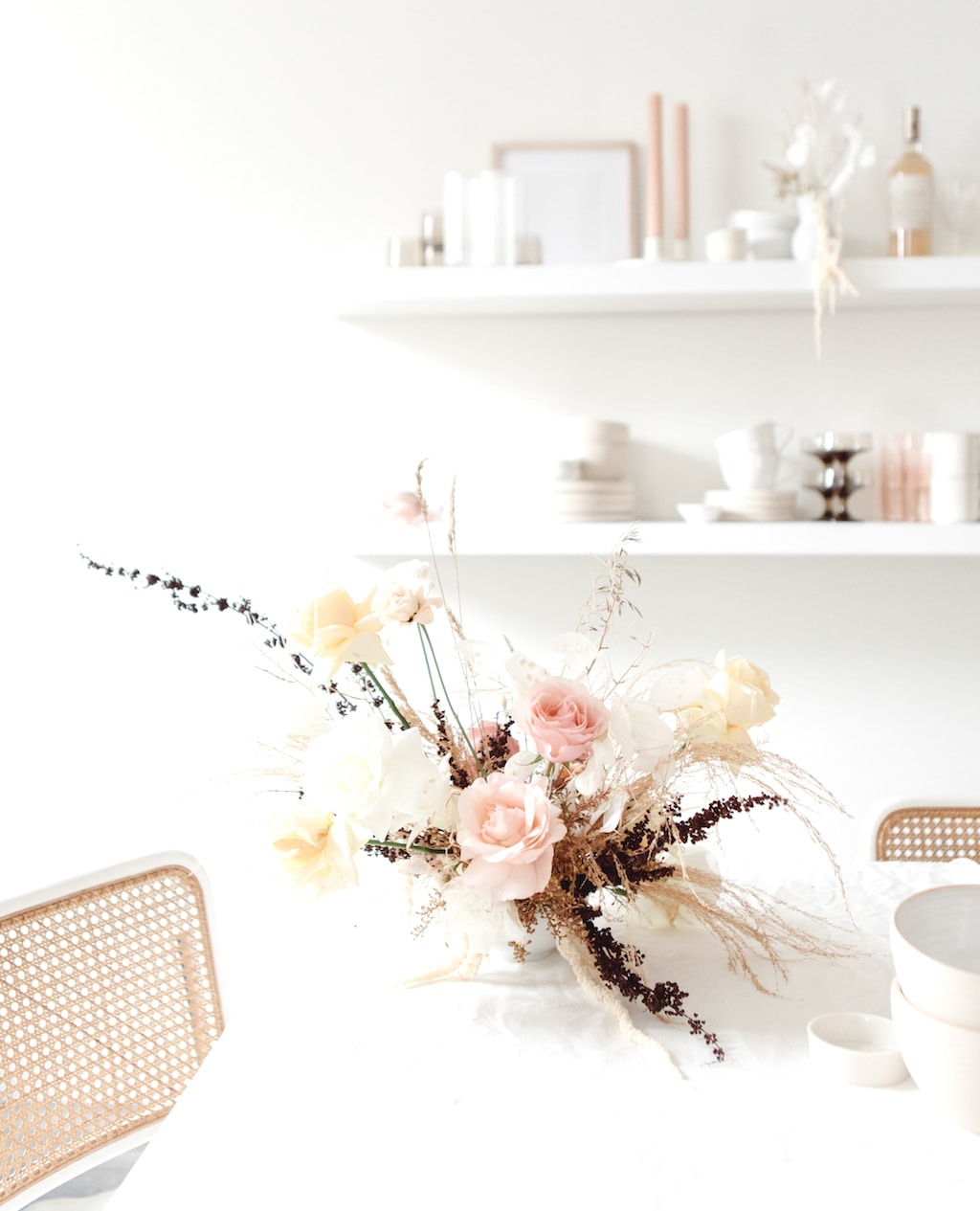 Kitchen Table Flowers